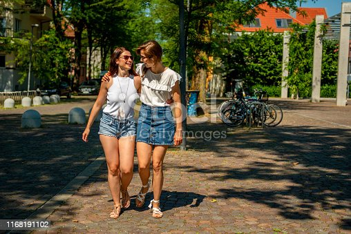 istock Female Friends spending day together 1168191102