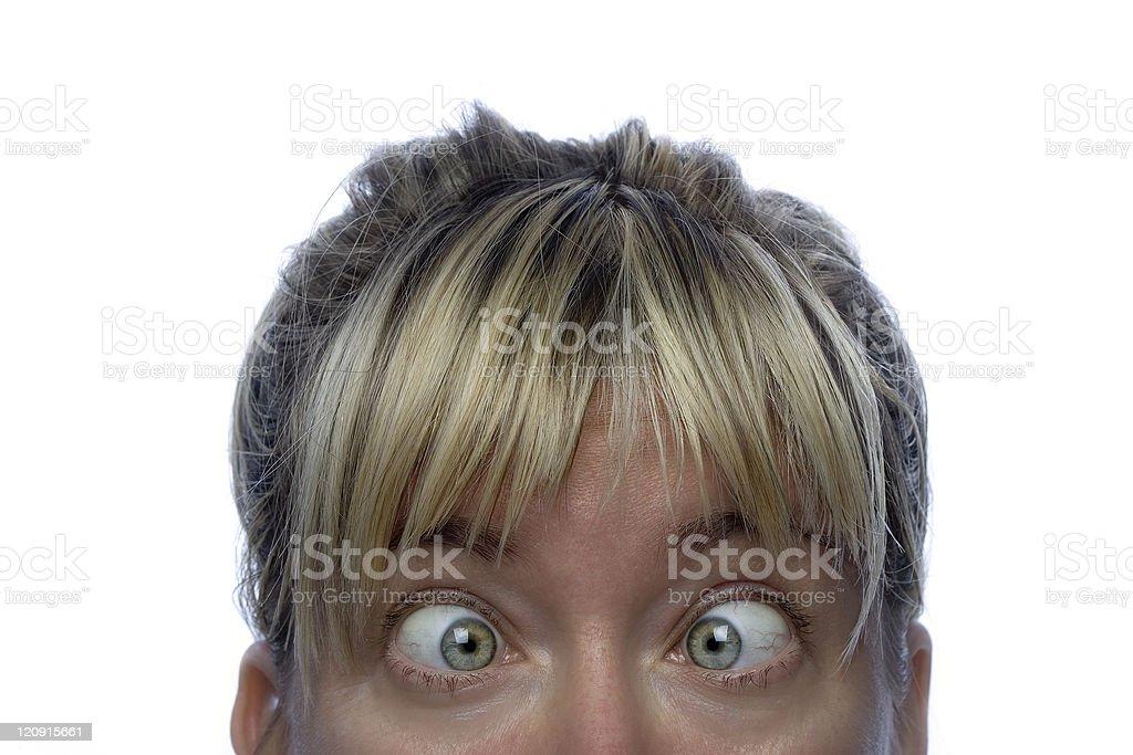 Female gaze royalty-free stock photo