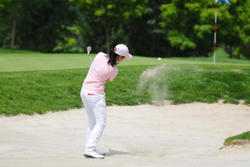 Female Golfer and Golf Sport