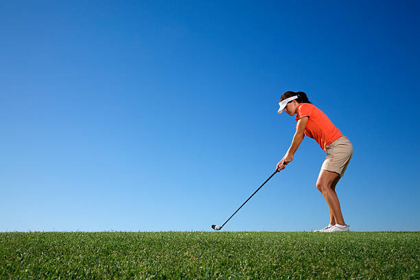 1 Golfer – Foto