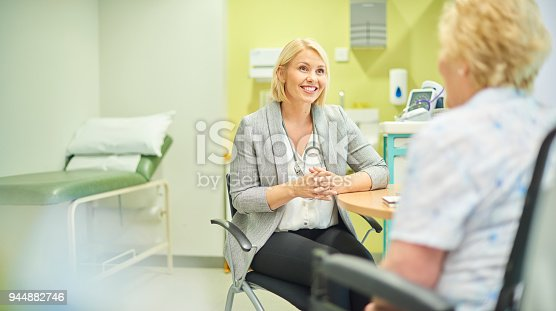 istock female gp listening to patient 944882746