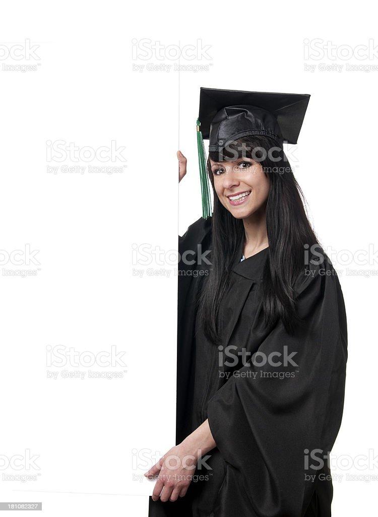 Female Graduate royalty-free stock photo