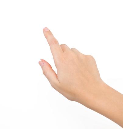 Female Hand Against White Background 照片檔及更多 人 照片