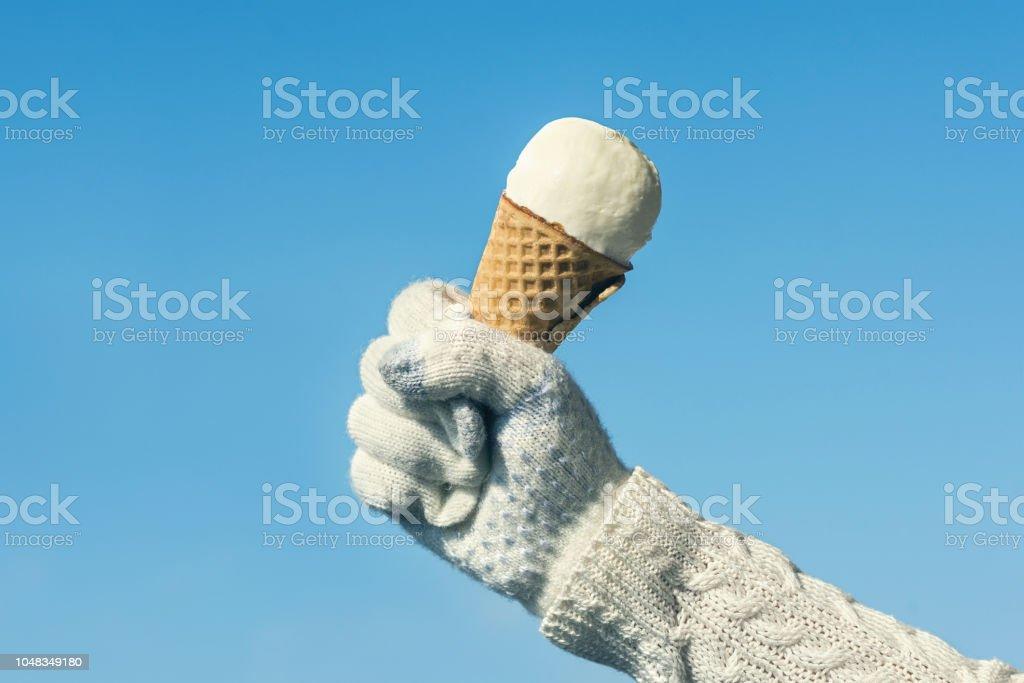 Cream Camel Woolen Adult/'s Gloves