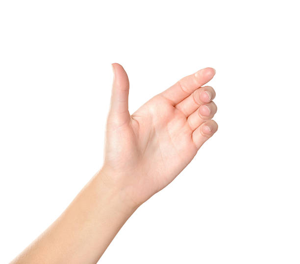 Hand hält virtuelle Handy – Foto