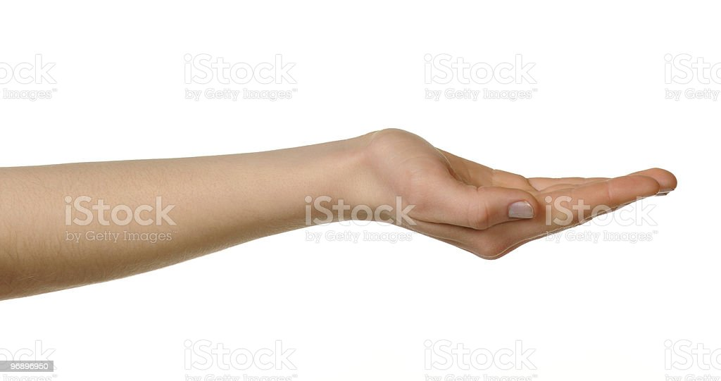 Female hand royalty-free stock photo