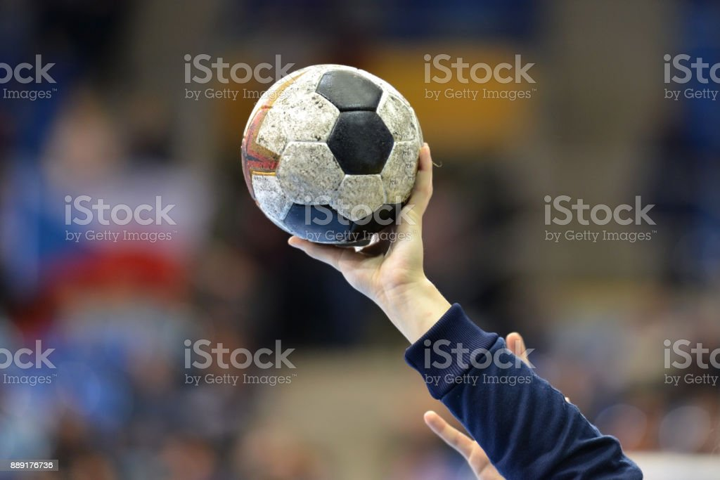 Female Handball Player - fotografia de stock