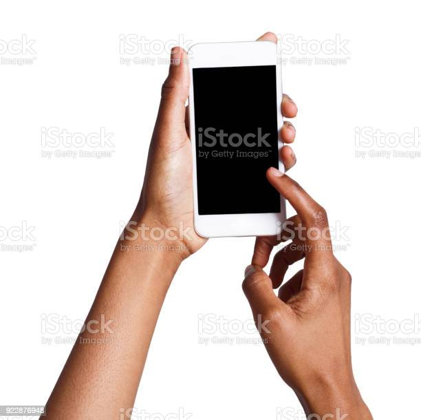 Female hands pointing on blank mobile phone screen picture id922876948?b=1&k=6&m=922876948&s=612x612&h=us7lvenckw0dvpdnpqtl698ihyz qdbpsg3q4cjr08q=