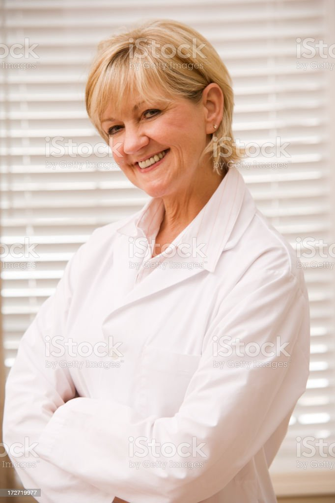 Female Healthcare Professional royalty-free stock photo