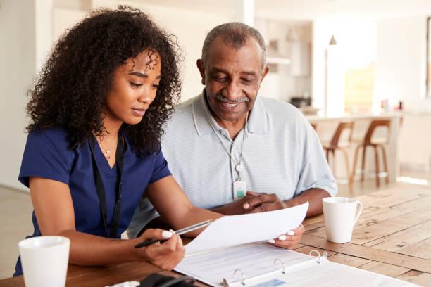 Female healthcare worker checking test results with a senior man a picture id1136782833?b=1&k=6&m=1136782833&s=612x612&w=0&h=s88mnvjcuii3rjwrupn0qibq2zeuolioe73wowpbw0o=