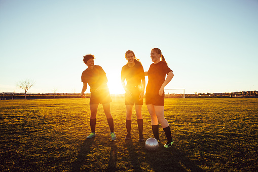 Female High School Soccer Players
