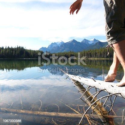 Mountain lake, Banff NP