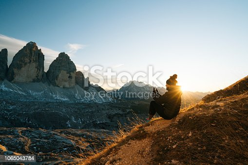 Mountains behind, Dolomites