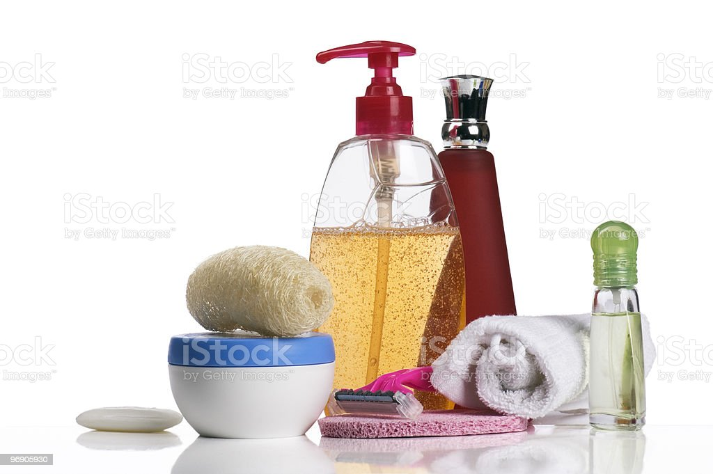 Female hygienic accessories royalty-free stock photo