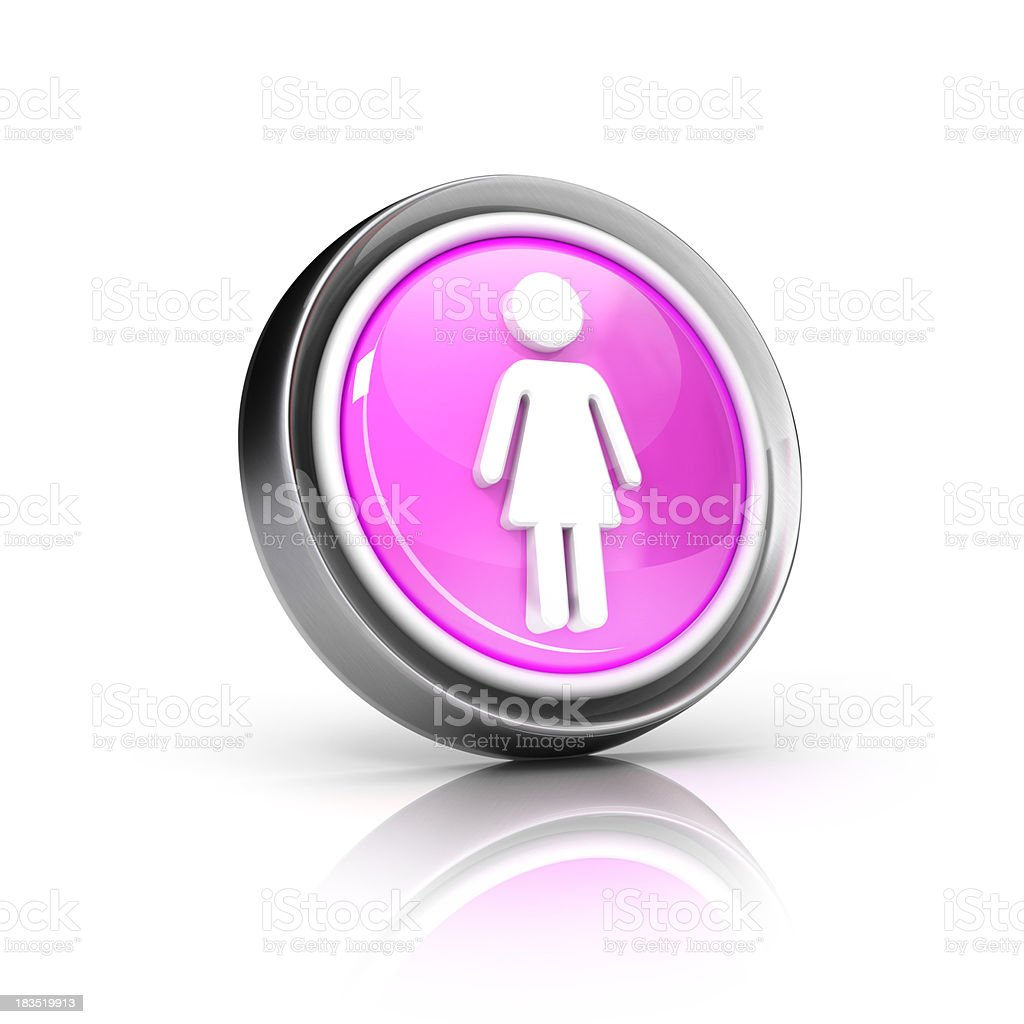 female icon royalty-free stock photo