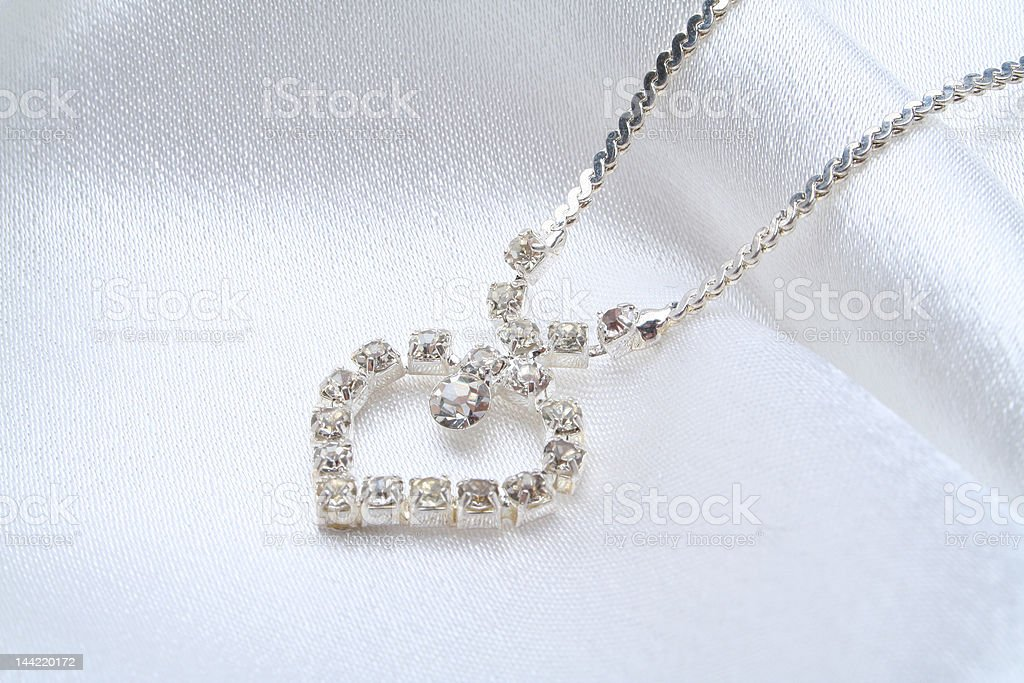 Female jeweller ornaments on a background stock photo