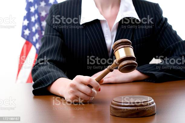 Female Judge Stock Photo - Download Image Now