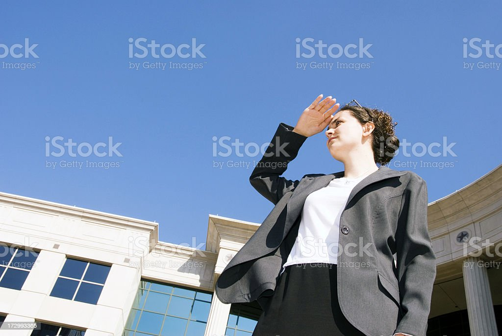 Female Lawyer royalty-free stock photo