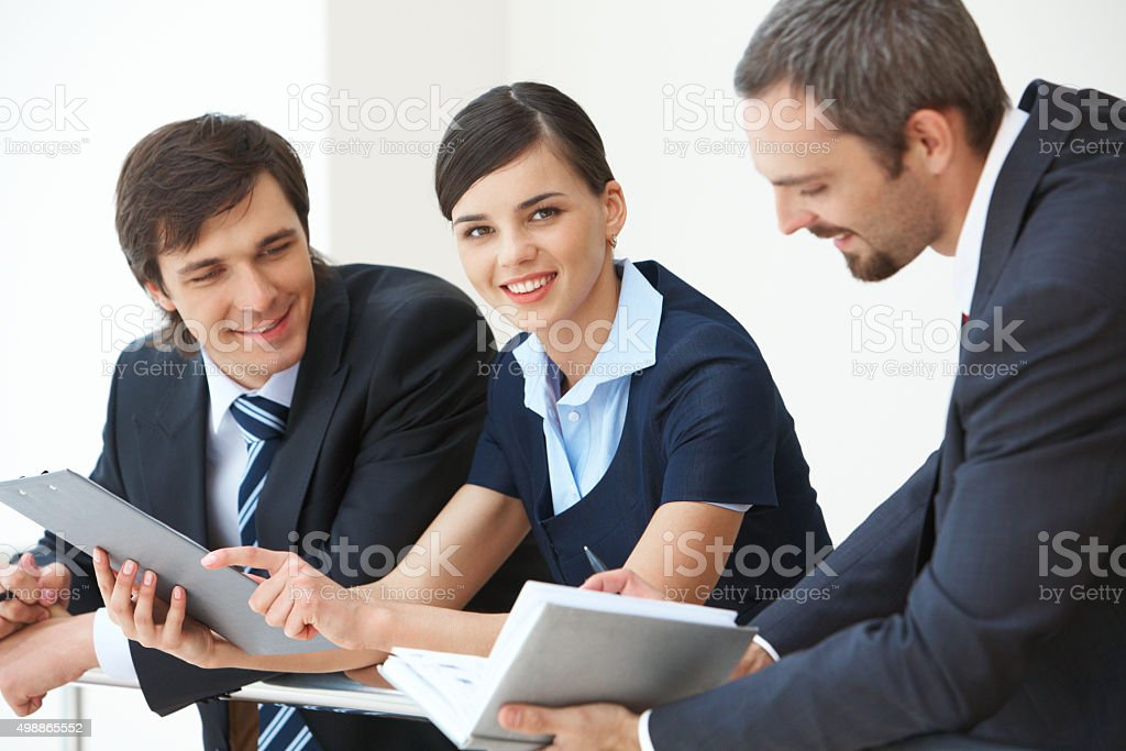Weibliche Führungskraft Lizenzfreies stock-foto