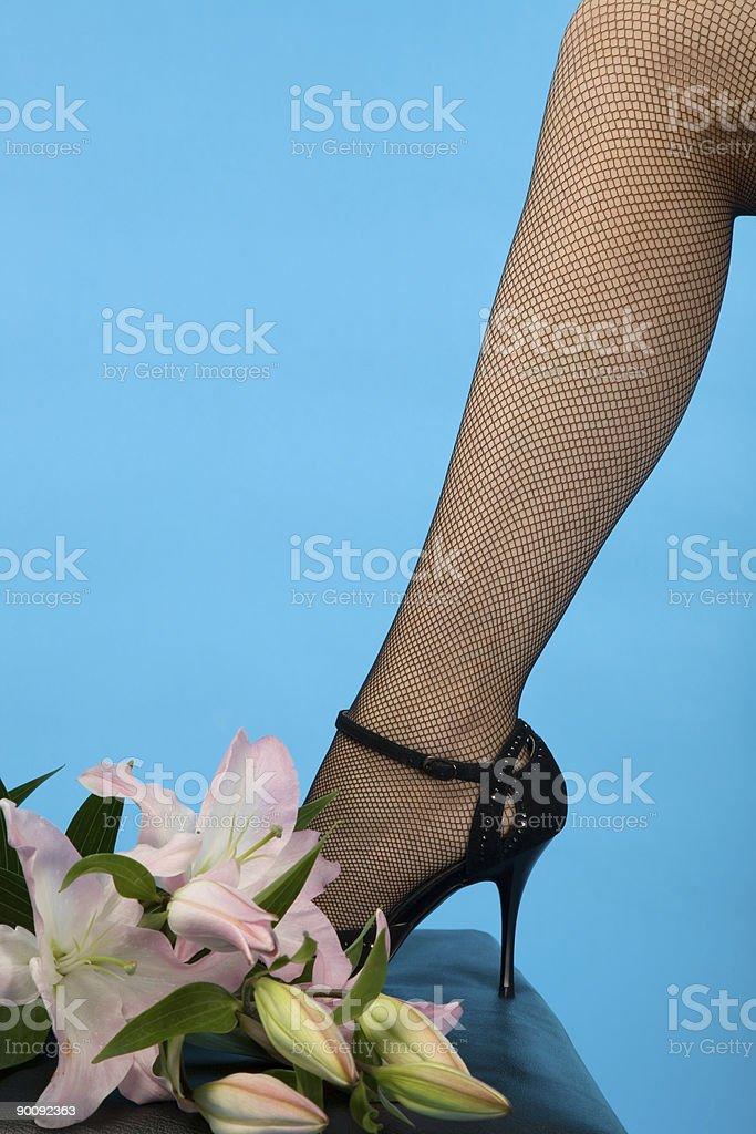 female leg royalty-free stock photo
