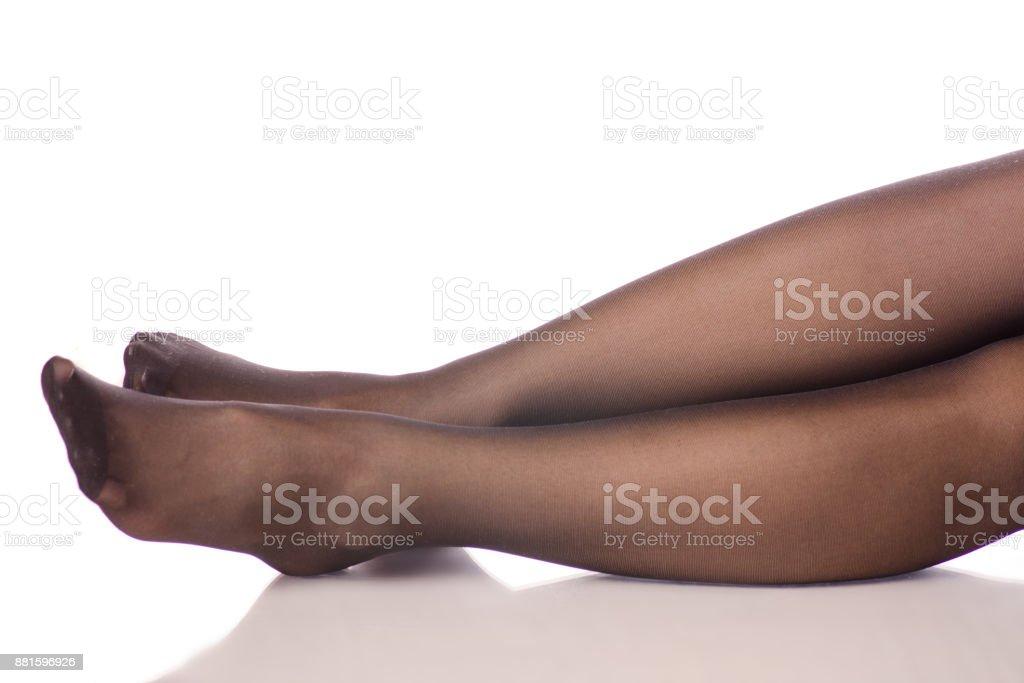 Beine Stockfoto Weibliche Nylons Und Mehr Bilder Von Strumpfhosen kXuiOZP