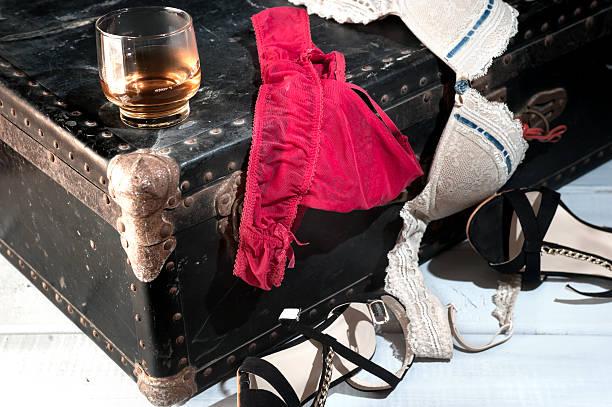 Weibliche Unterwäsche und Accessoires – Foto