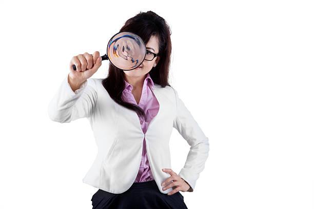Female manager using a magnifier picture id534074899?b=1&k=6&m=534074899&s=612x612&w=0&h=mc8axlttfonat2cjjtrmgw qjgyfeyhrmwfmxvdetaw=