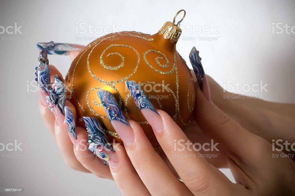 Female manicure royalty-free stock photo