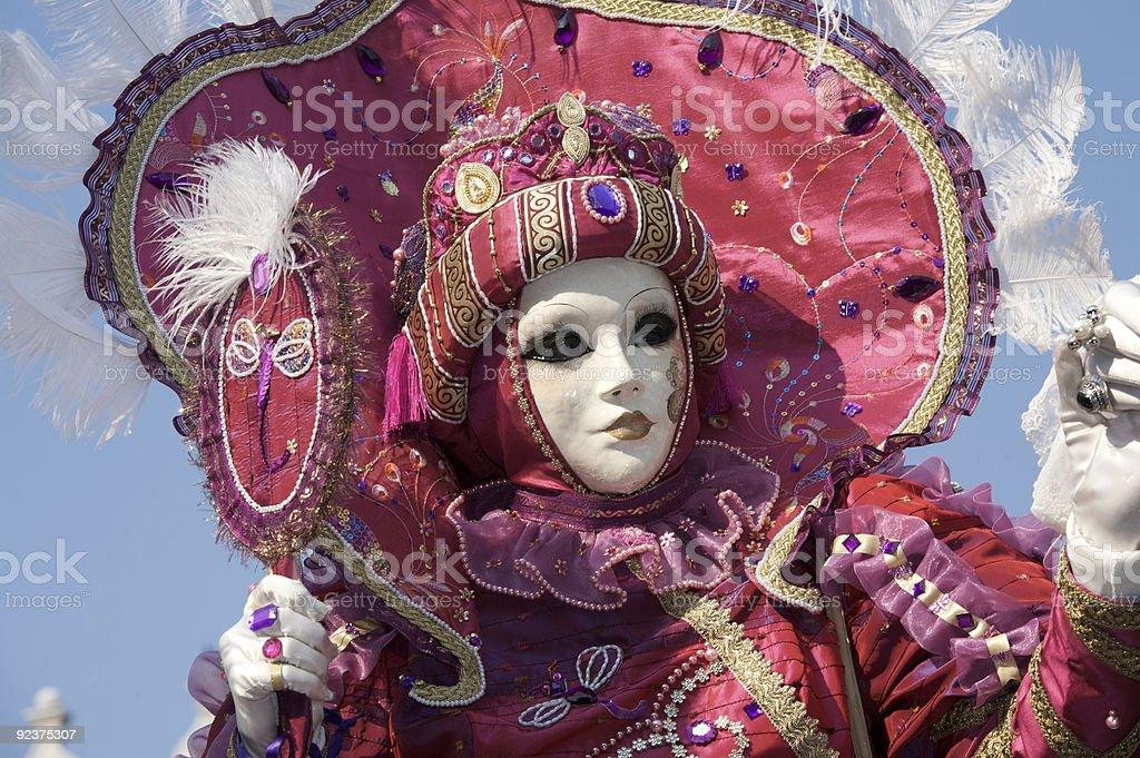 Female mask royalty-free stock photo