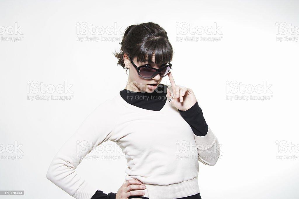 female model stock photo