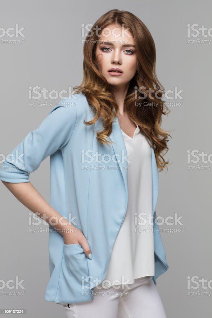 Modelo feminino - foto de acervo