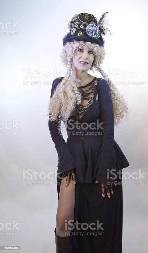 Female Model Revealing royalty-free stock photo