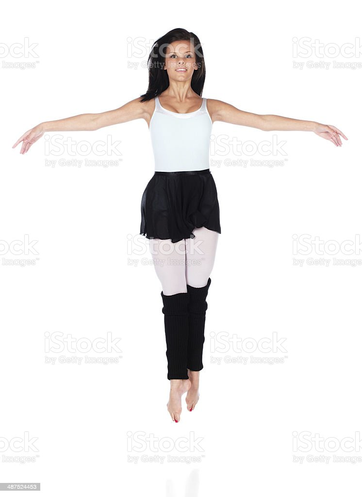 Female modern dancer royalty-free stock photo