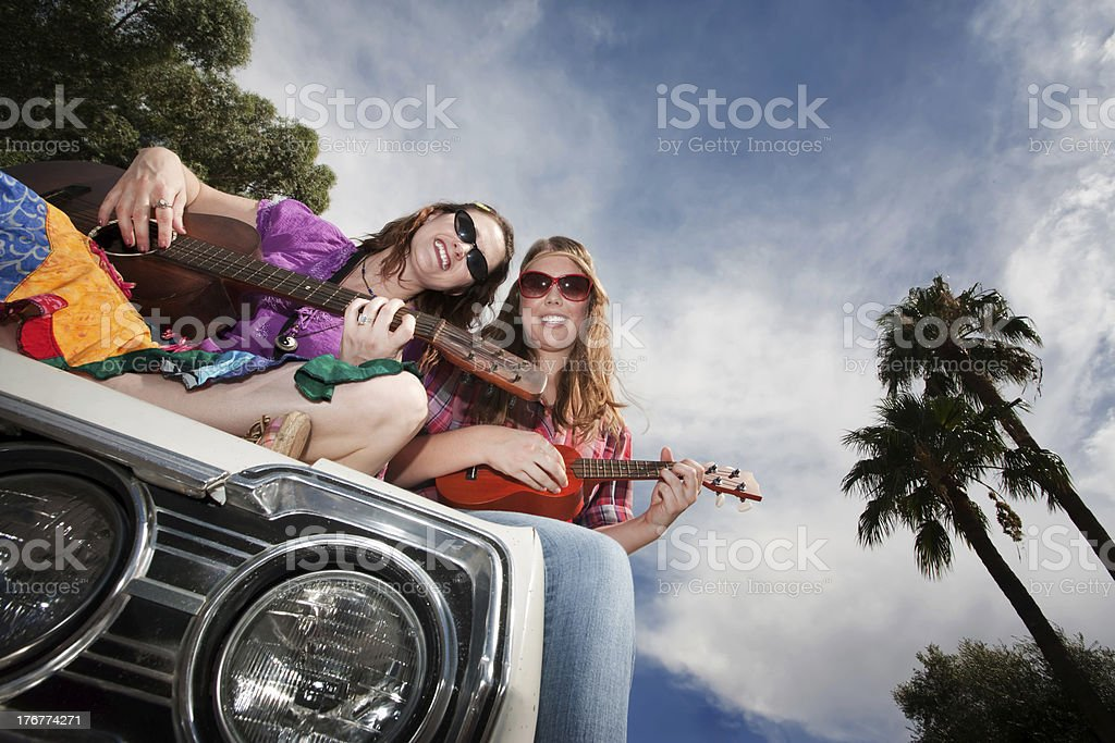 Female Musicians royalty-free stock photo