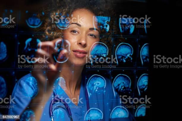 Female Neurosurgeon Stock Photo - Download Image Now