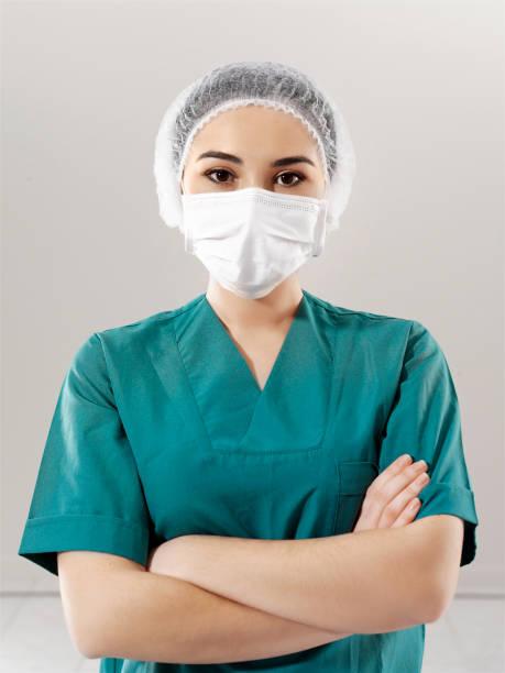 Weibliche Krankenschwester Porträt – Foto
