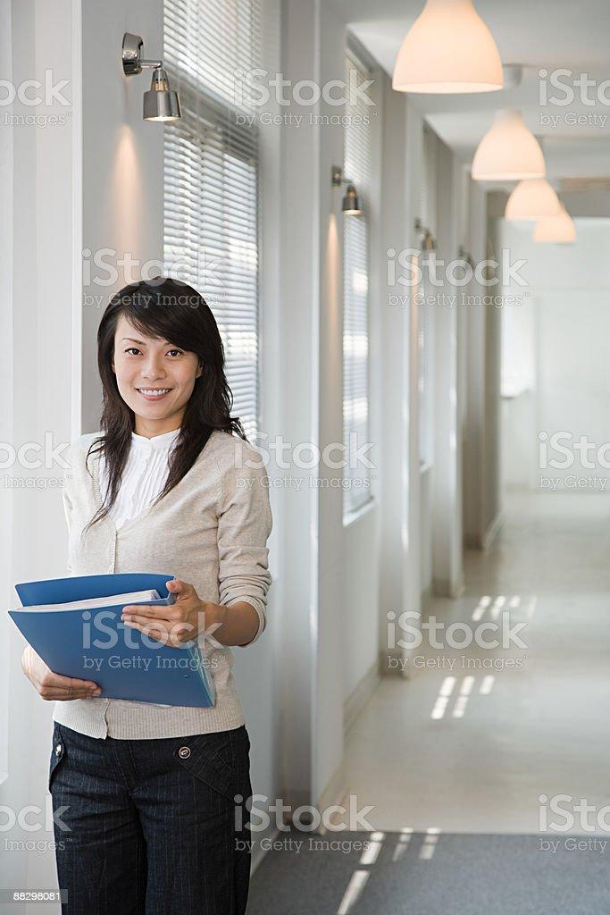 Weibliche Büroangestellter Lizenzfreies stock-foto