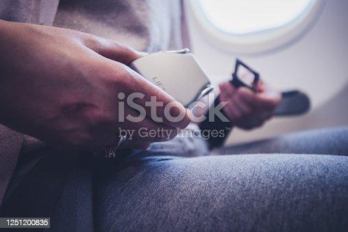 Preparing for landing.