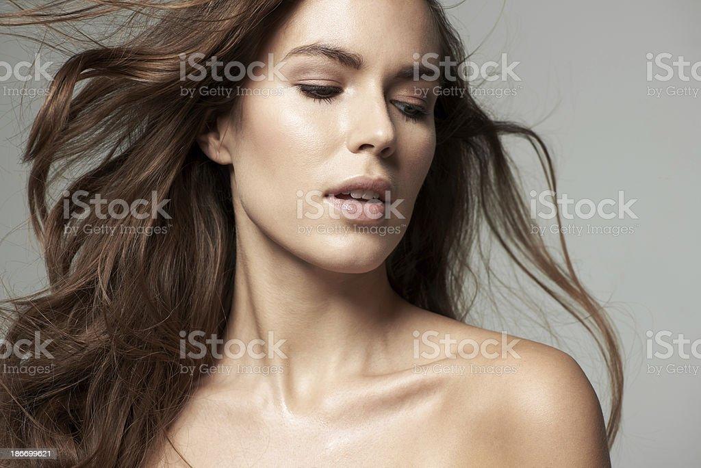 Female perfection stock photo