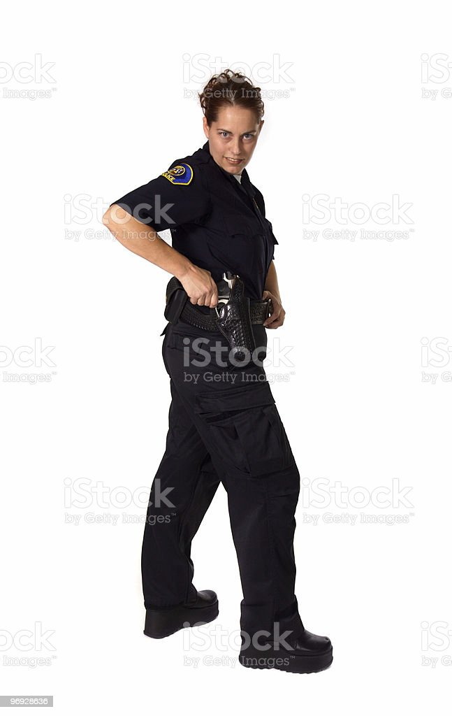 Female Police Officer royalty-free stock photo
