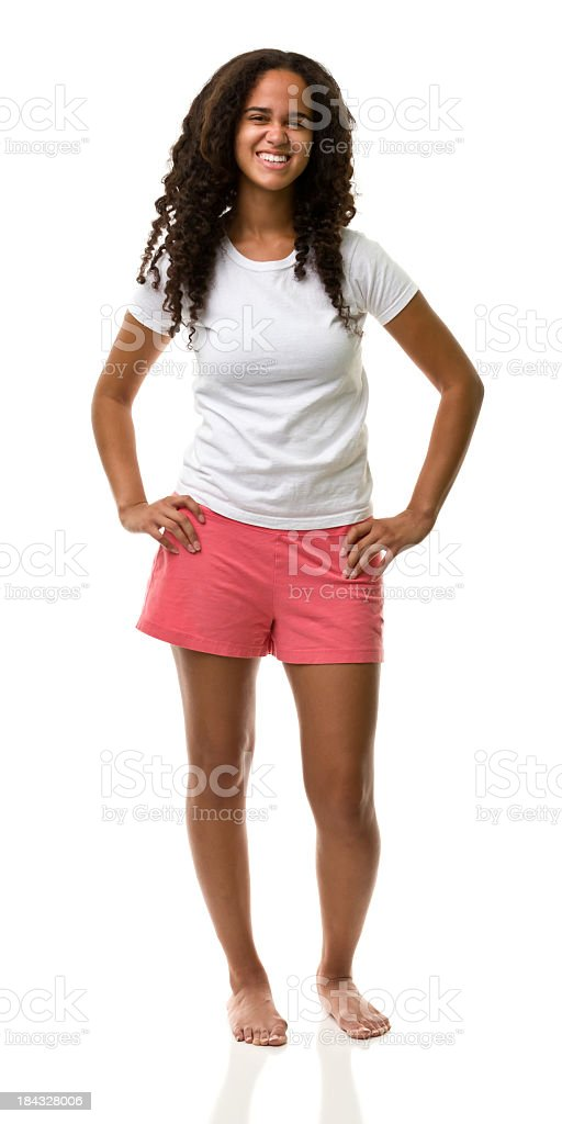 Retrato de mujer - foto de stock