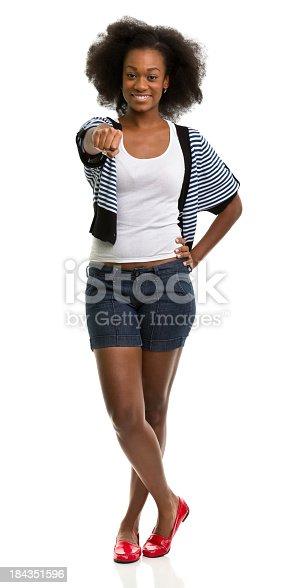 166407266 istock photo Female Portrait 184351596