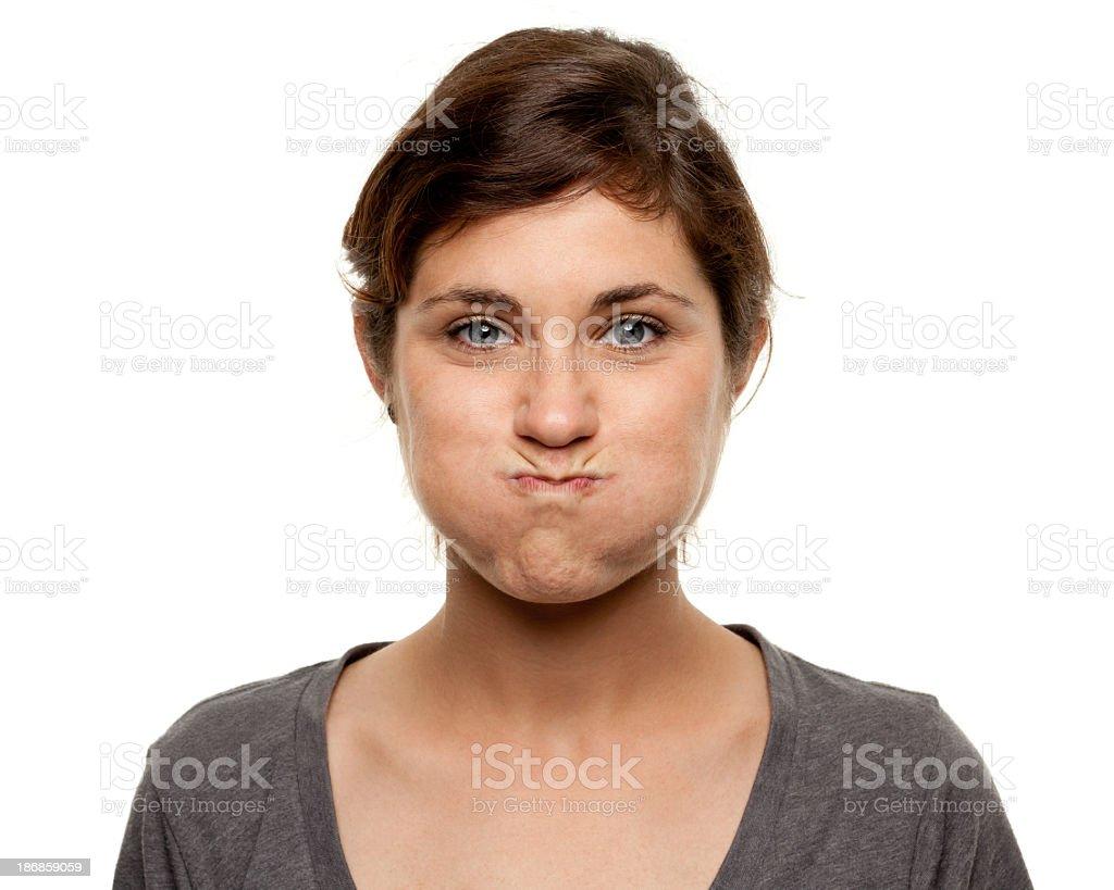 Female Portrait stock photo