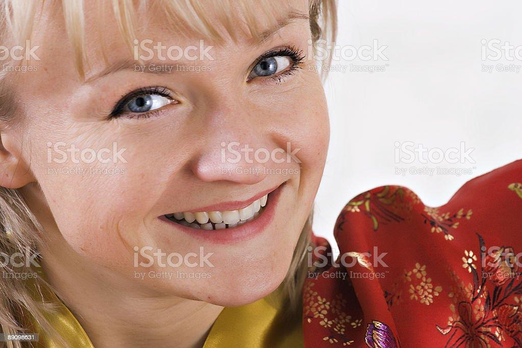 Weibliche Porträt Lizenzfreies stock-foto