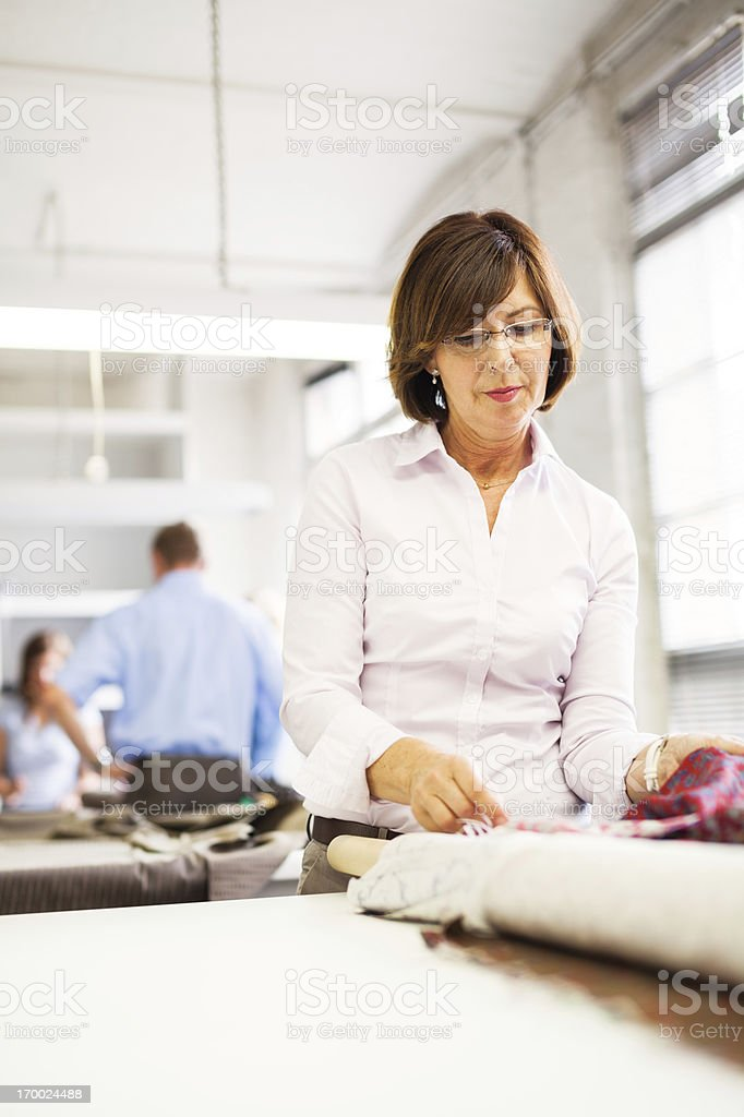 female professional at work royalty-free stock photo