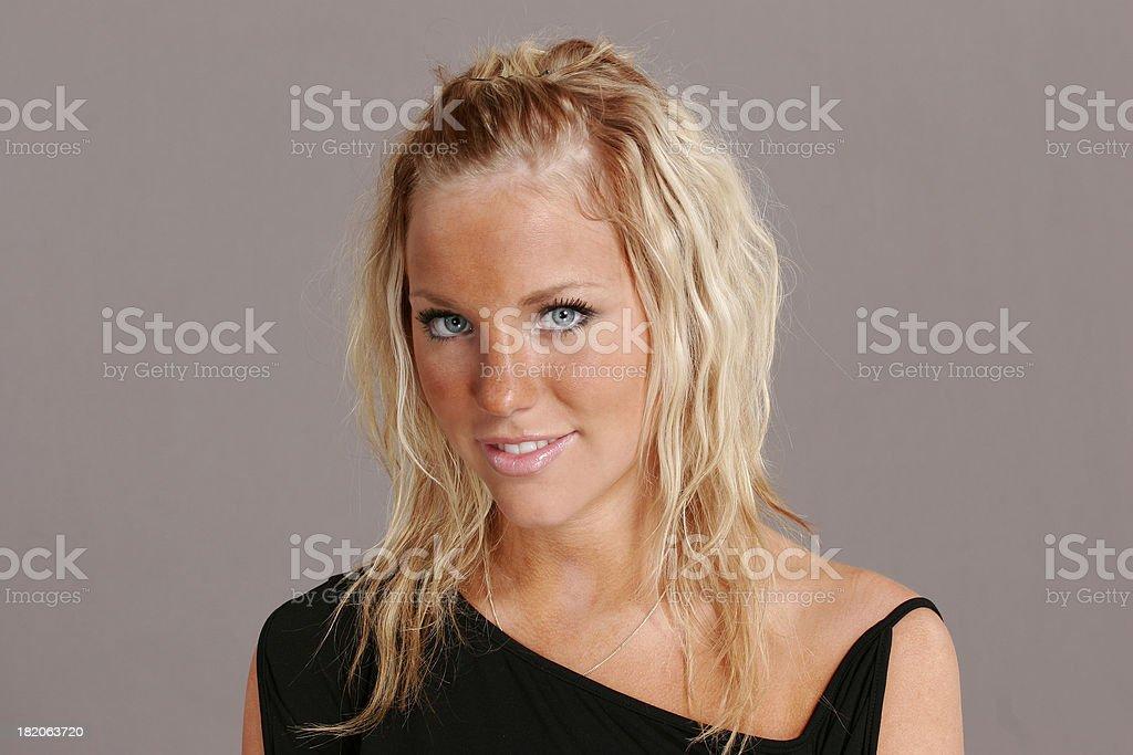 female protrait royalty-free stock photo