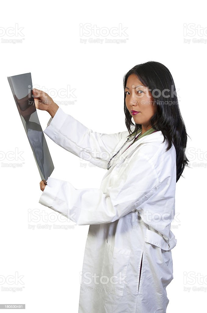 Female Radiologist royalty-free stock photo