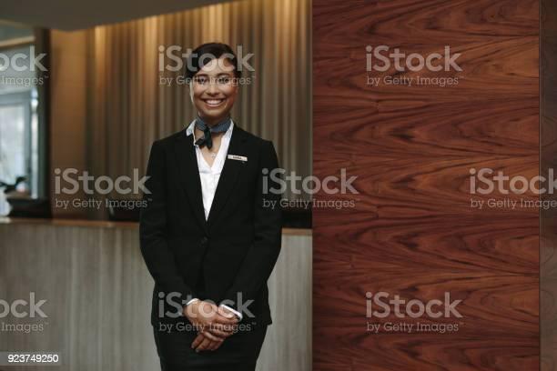Female receptionist working in hotel picture id923749250?b=1&k=6&m=923749250&s=612x612&h=cbvt1vwzxp upixcsqivbputizhgfo9feayzfm4yxiu=