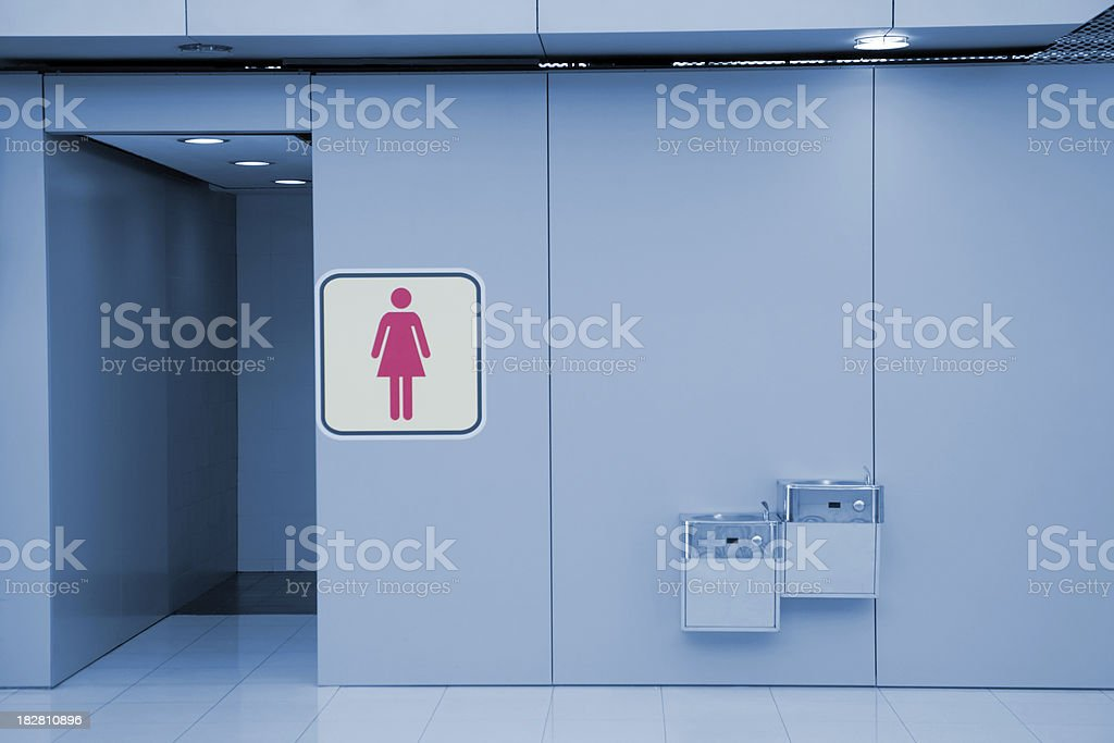 Female Rest Room stock photo