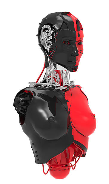 female robot - disingenuous stock pictures, royalty-free photos & images